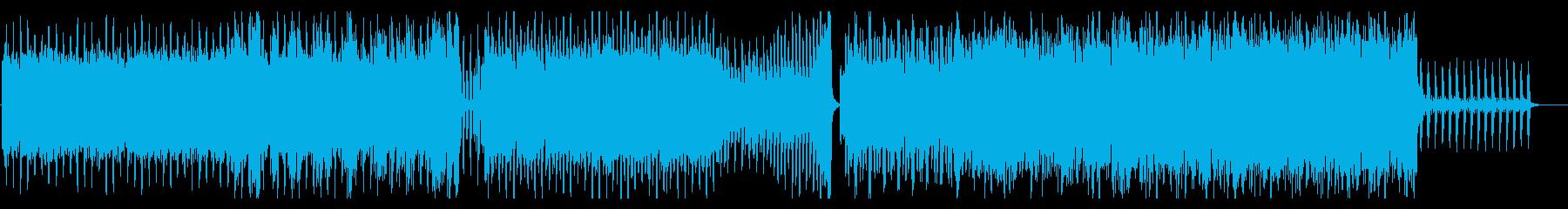 明るい爽やかなEDM テクノ ダンスの再生済みの波形