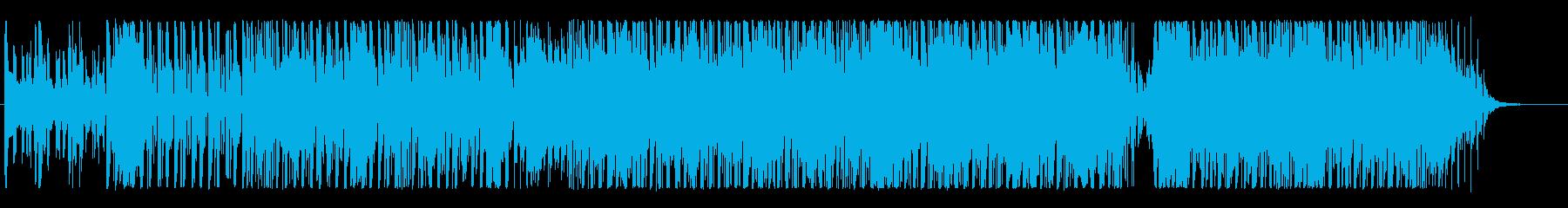Groovy、テクノロジー、音楽、企業の再生済みの波形