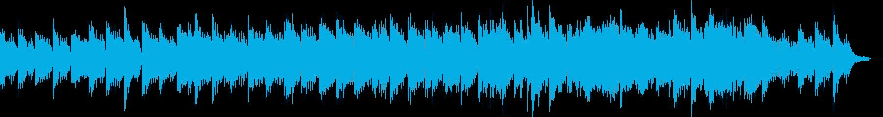企業VPや映像にノスタルジックなピアノの再生済みの波形
