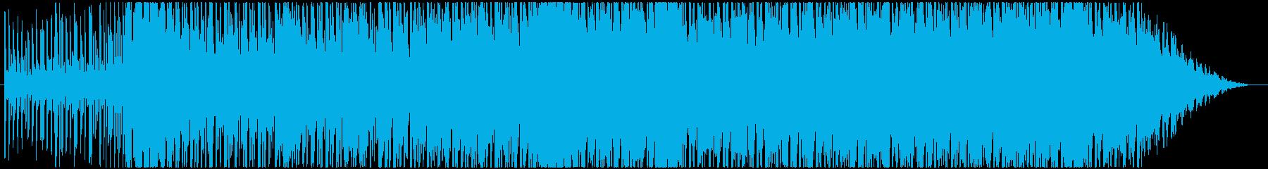 シンセ系です。の再生済みの波形