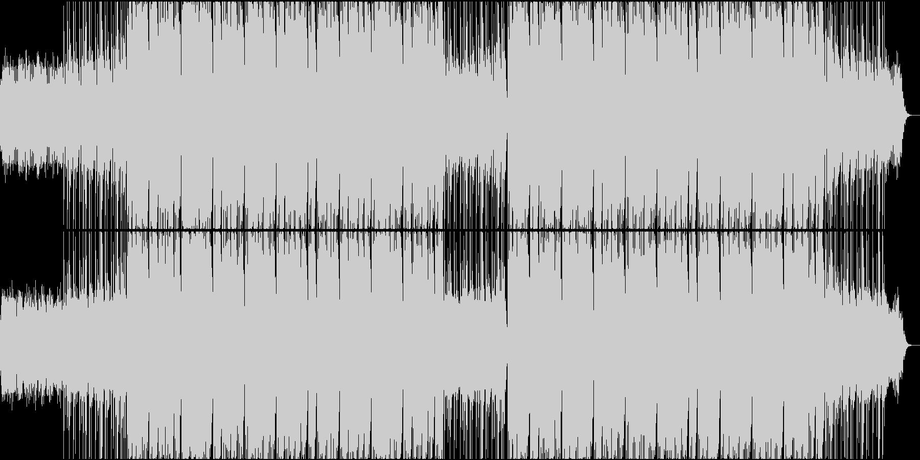 ダークなトラップビート【HipHop】の未再生の波形