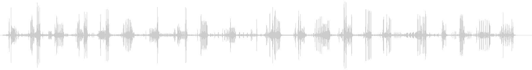 ナイチンゲール-ロシニョールの未再生の波形