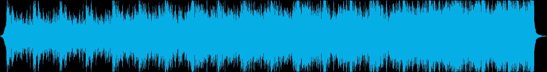 勇壮なハリウッド風エピックトレーラーcの再生済みの波形