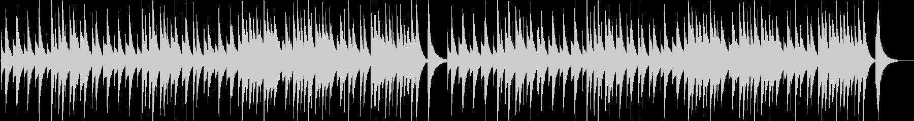 ジムノペディ第1番のオルゴール音源の未再生の波形