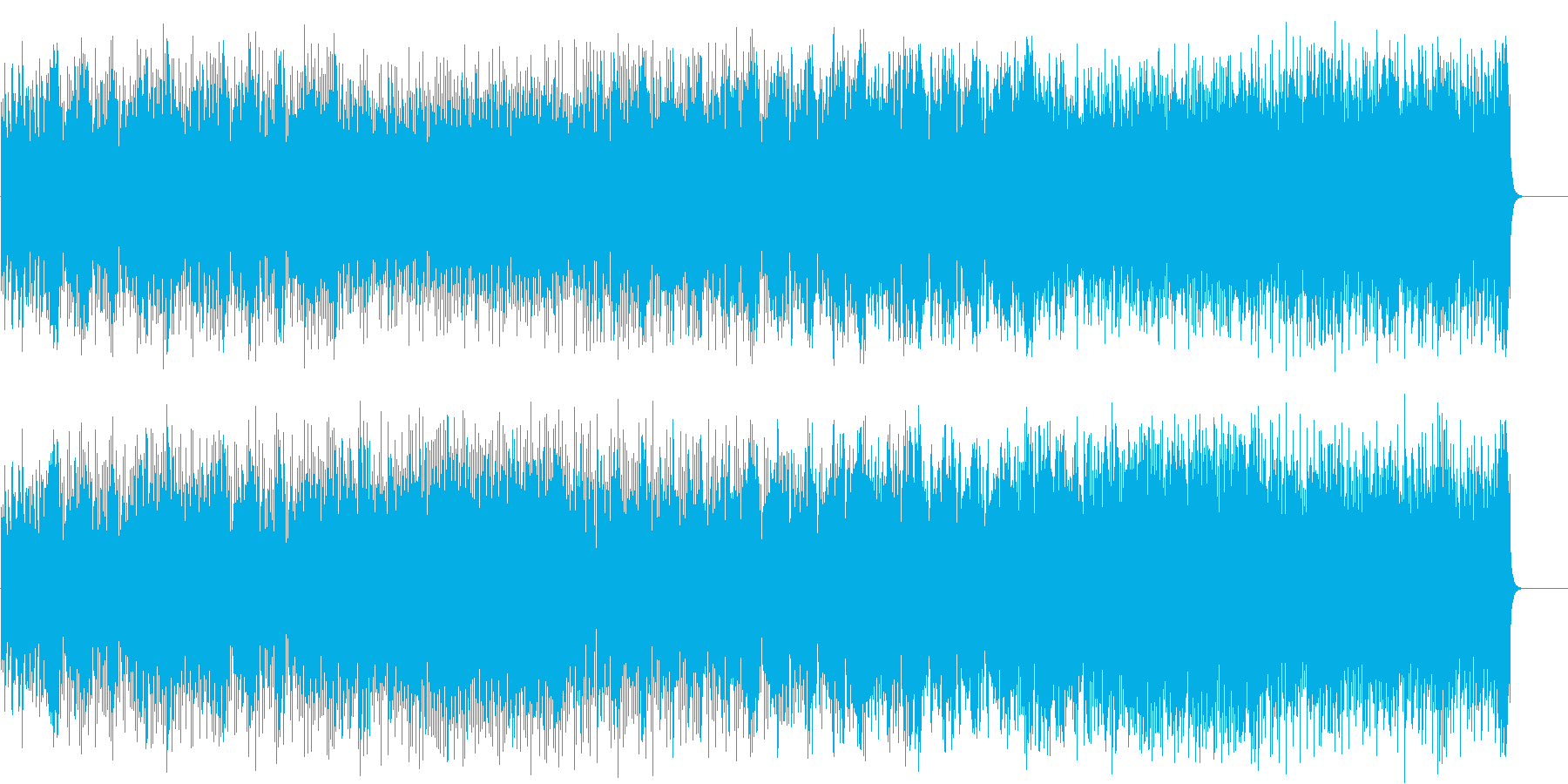 爽やかで力強いポップ/BGの再生済みの波形