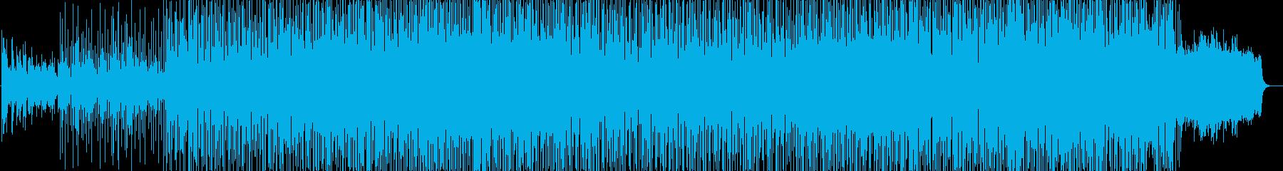記念日動画に最適な軽やかなR&Bバラードの再生済みの波形