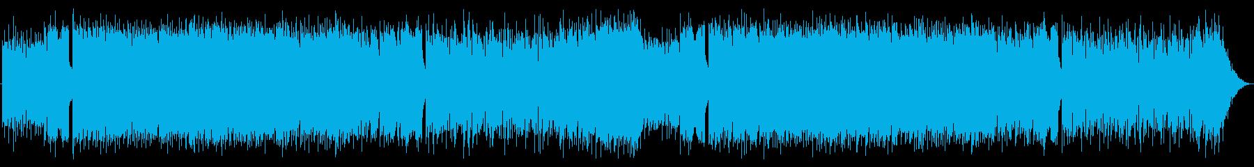 爽やかな90年代風BGMの再生済みの波形