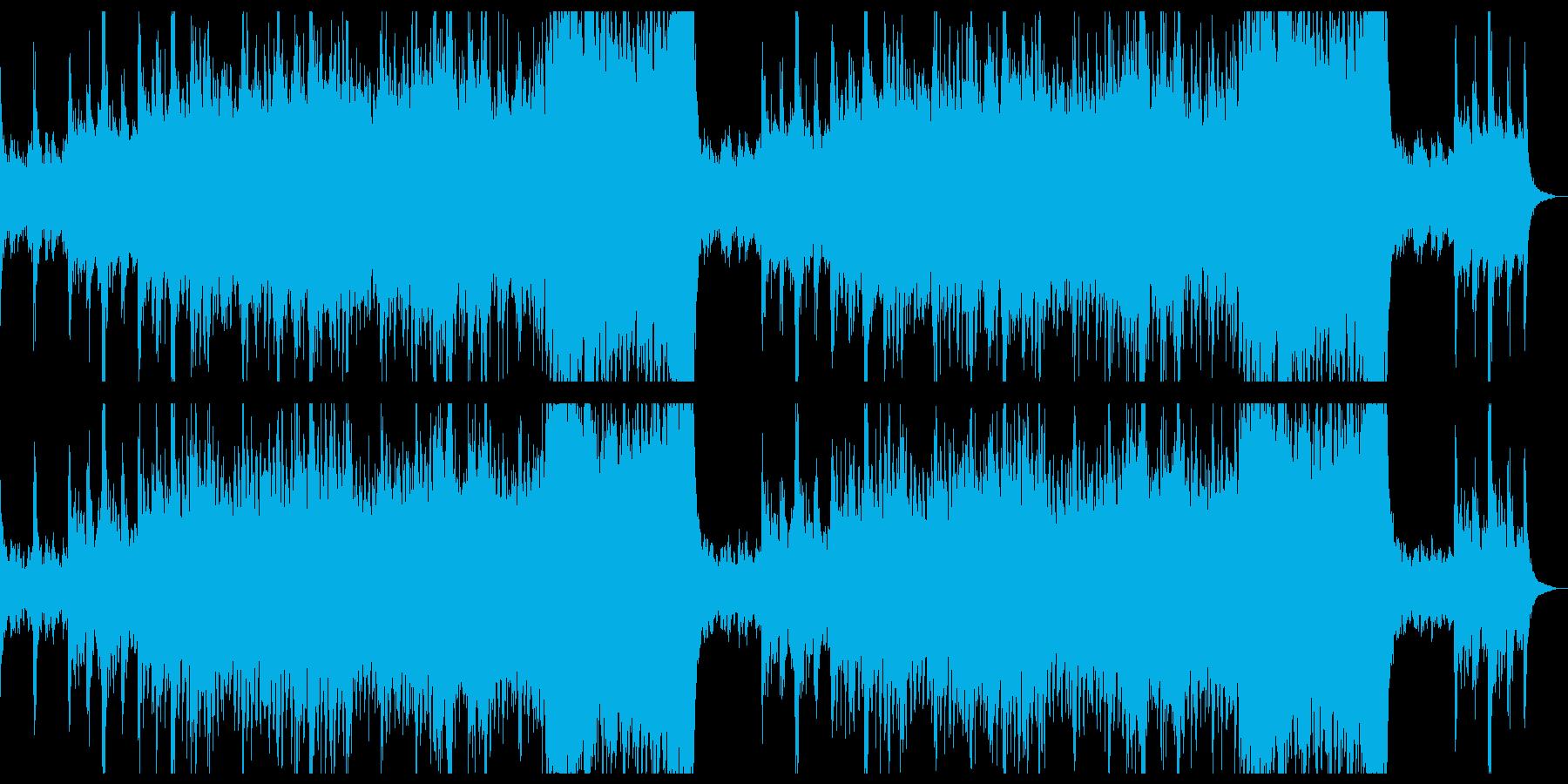 爽やかで感動的なシネマティク。の再生済みの波形