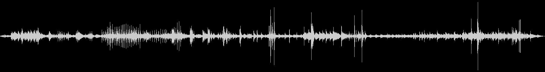 建築現場の環境音 1bの未再生の波形