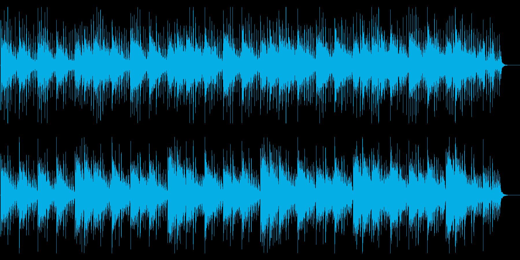 ヨガやストレッチにヒーリング系チルアウトの再生済みの波形