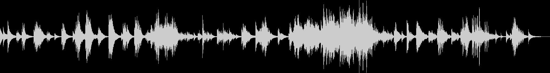 優しくて切ないピアノバラード(しっとり)の未再生の波形