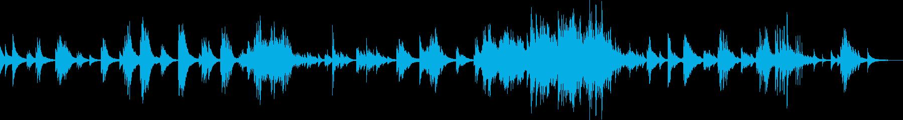 優しくて切ないピアノバラード(しっとり)の再生済みの波形