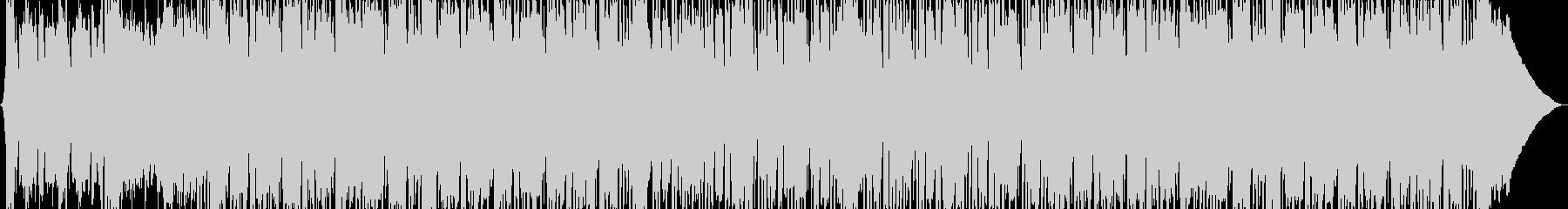 重くて強いハードコアロックの未再生の波形