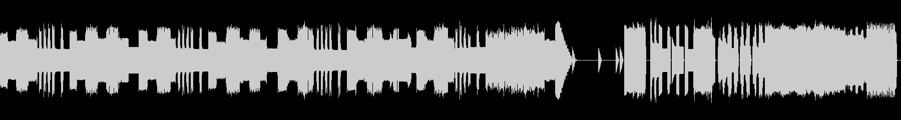 ★8bit 勝利と栄光のファンファーレの未再生の波形