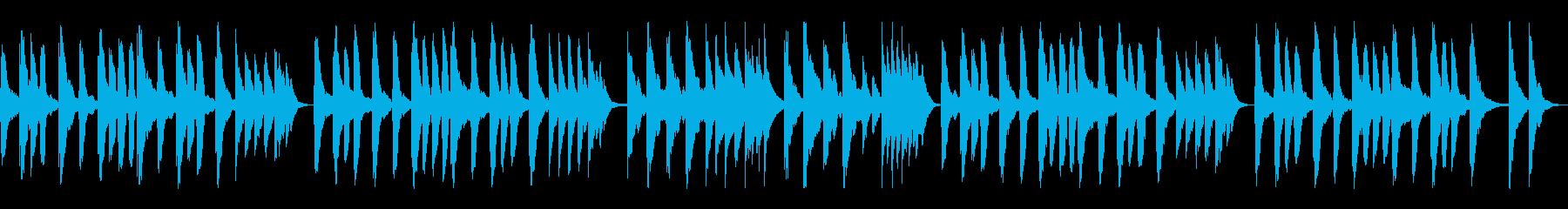 ほのぼのゆったりオーケストラ。ループ可♪の再生済みの波形