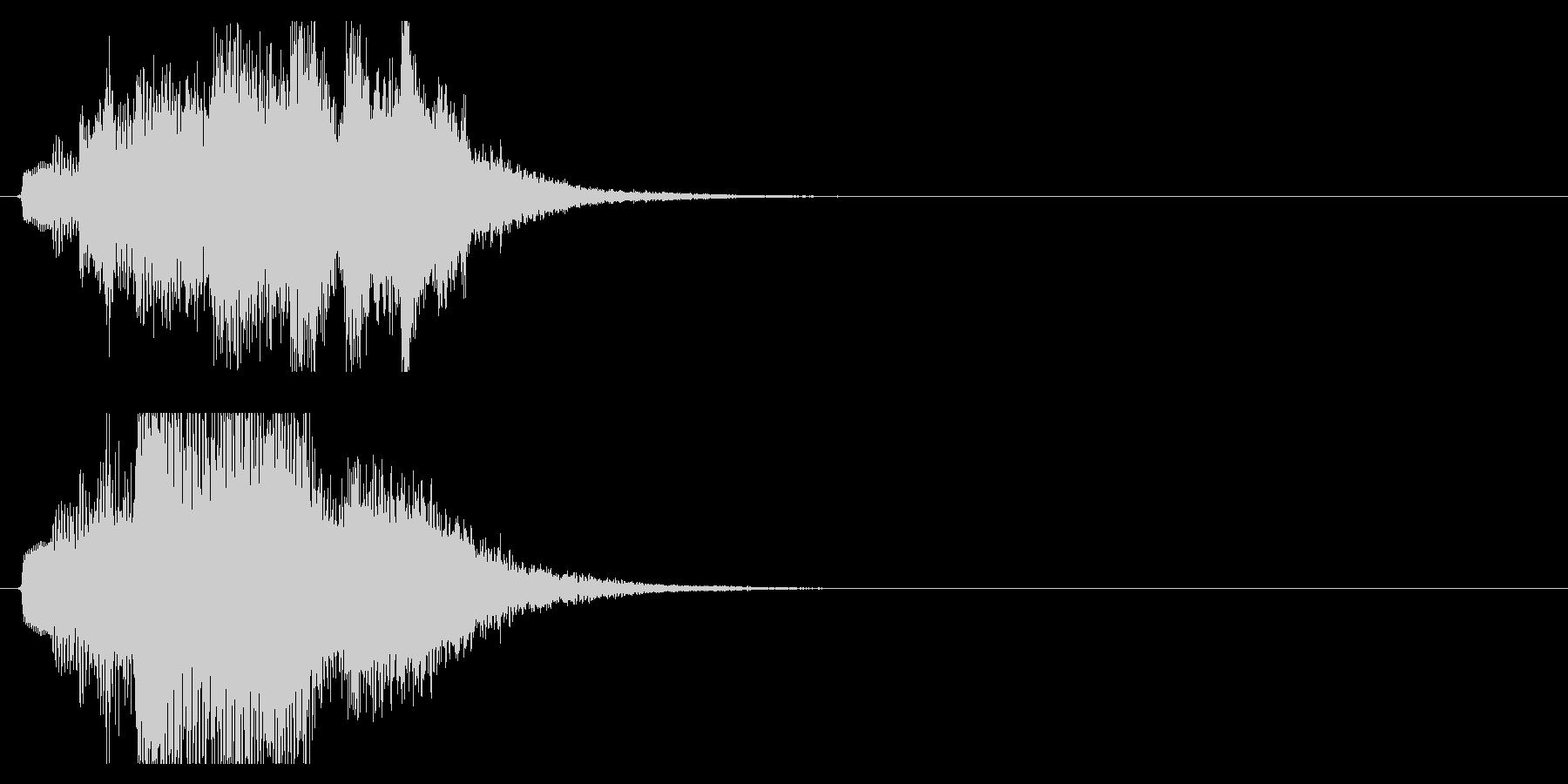 ハープ・上昇_8-1の未再生の波形