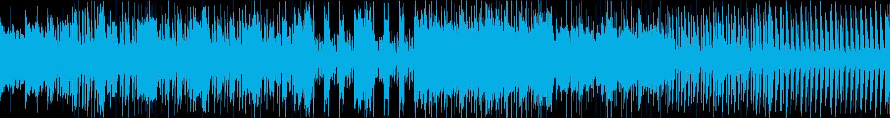 緊張感のあるプログレ戦闘曲/ループ可の再生済みの波形