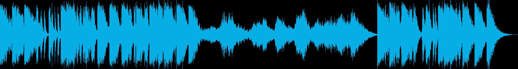 不協和音のイントロには、ドラマチッ...の再生済みの波形