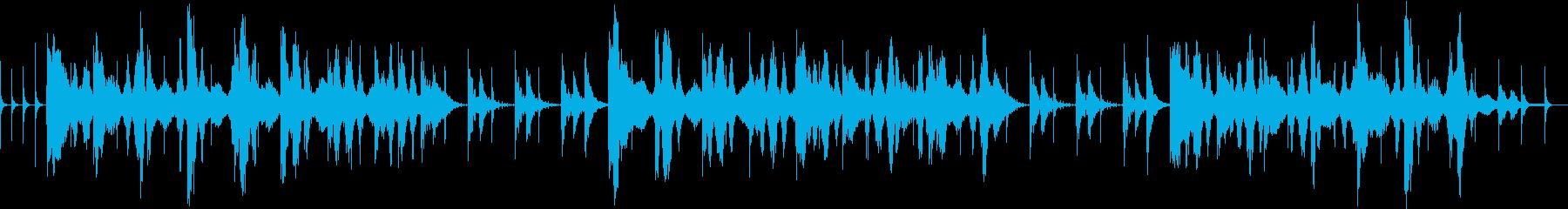 爽やかに広がるヒーリングサウンドの再生済みの波形