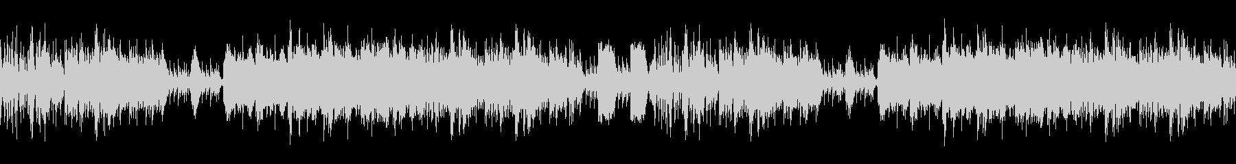 琴和太鼓ポップで和風楽曲ループ京都の未再生の波形