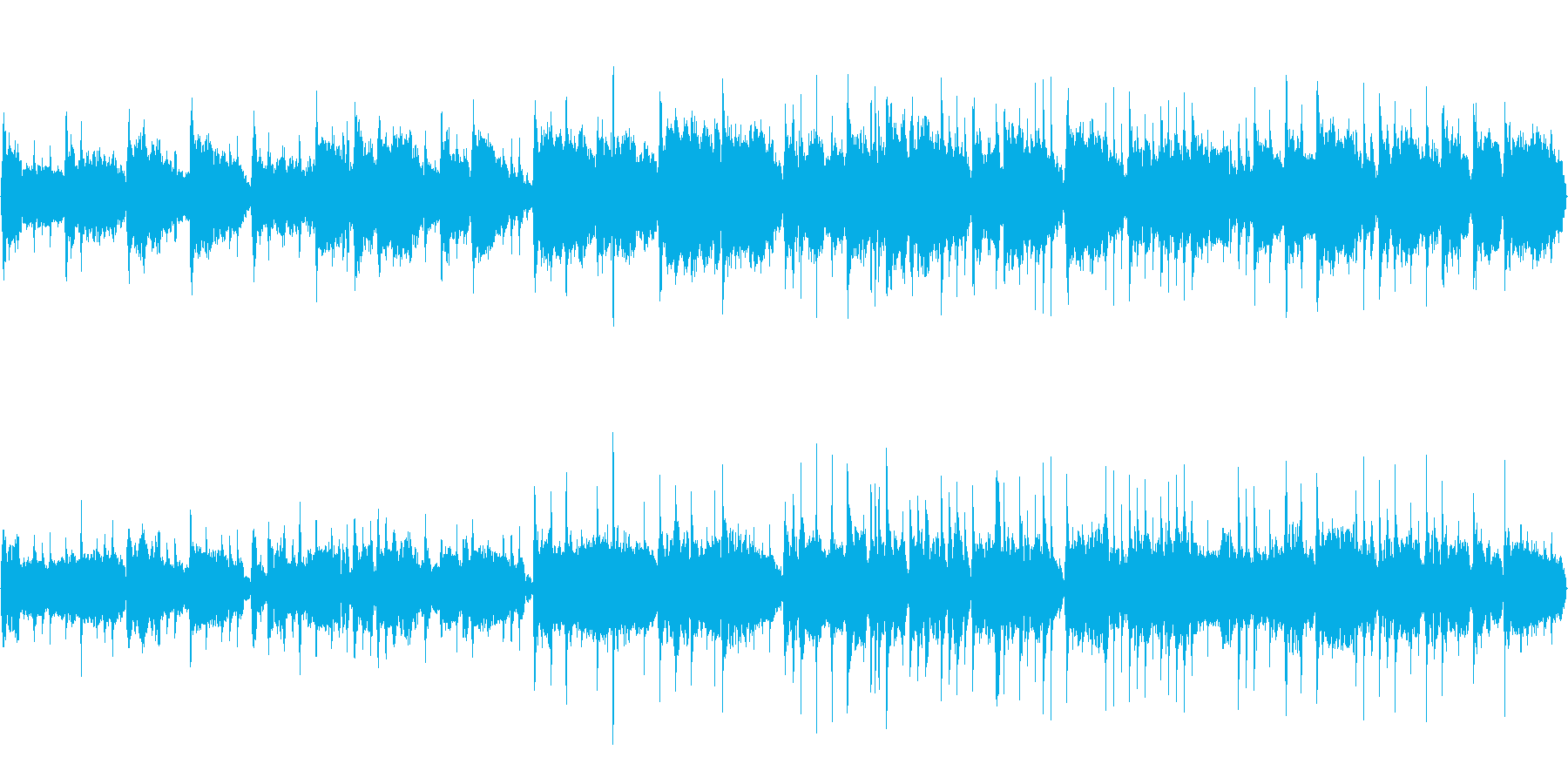 【54秒ループ】二胡や古箏で中国風ポップの再生済みの波形