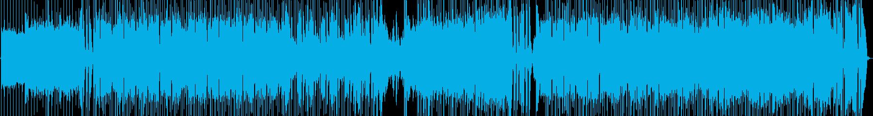 POPセンチメンタルなインスト曲の再生済みの波形