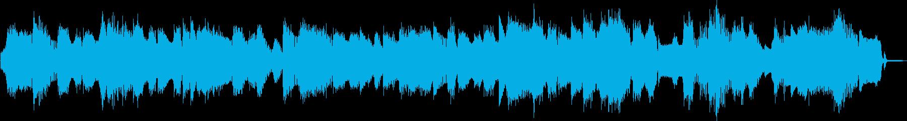 ビックバンドジャズ、スローバラードの再生済みの波形