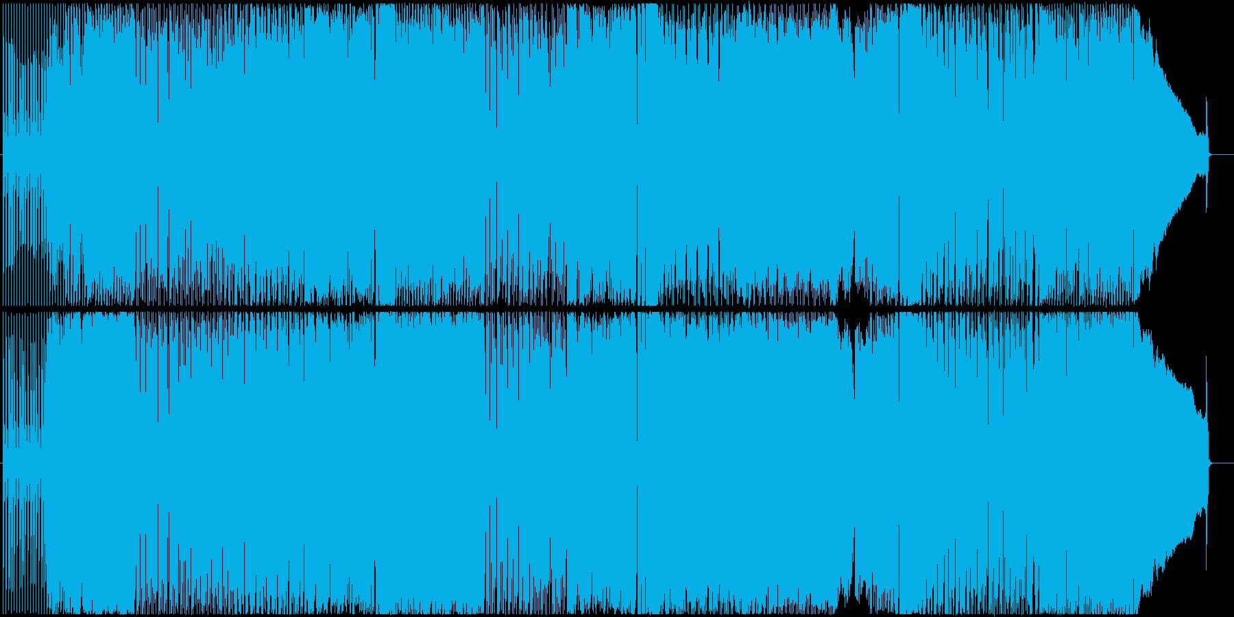 アダルトな雰囲気の妖しい歌謡曲の再生済みの波形