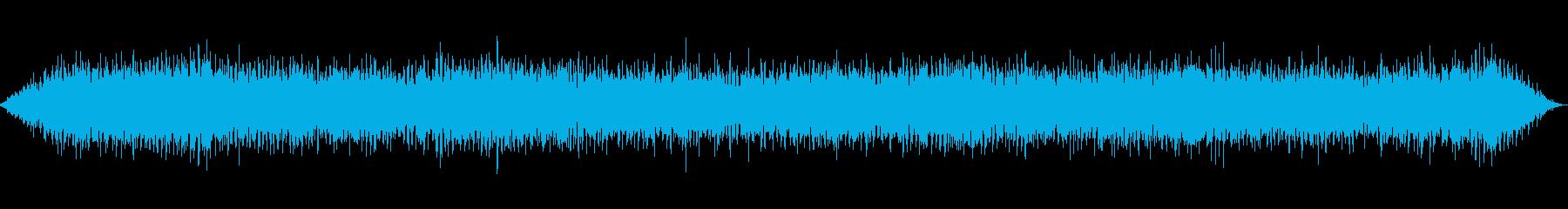 クレーン車の運転の再生済みの波形