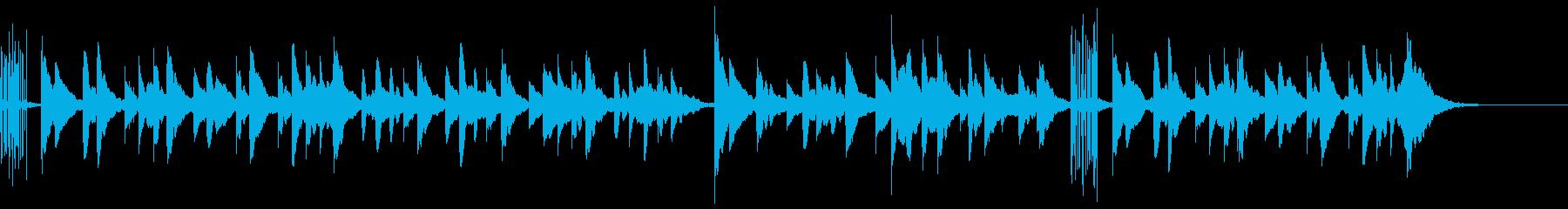 赤ちゃん子守唄優しい/静かなオルゴール曲の再生済みの波形