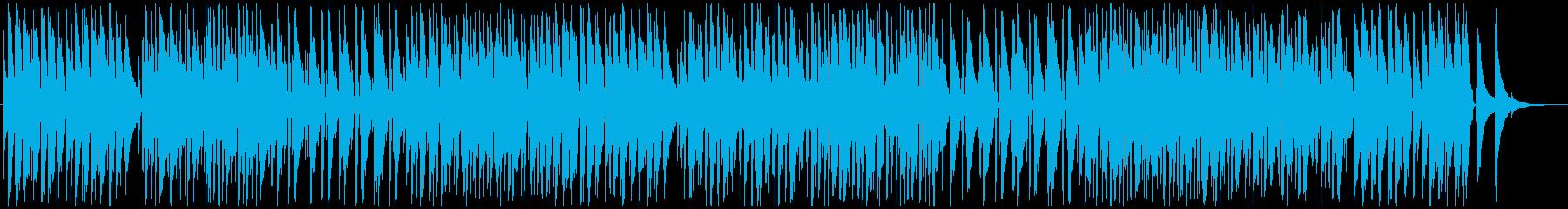 お洒落カフェジャズトリオの再生済みの波形