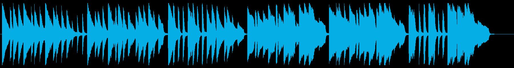 かたつむり ピアノver.の再生済みの波形