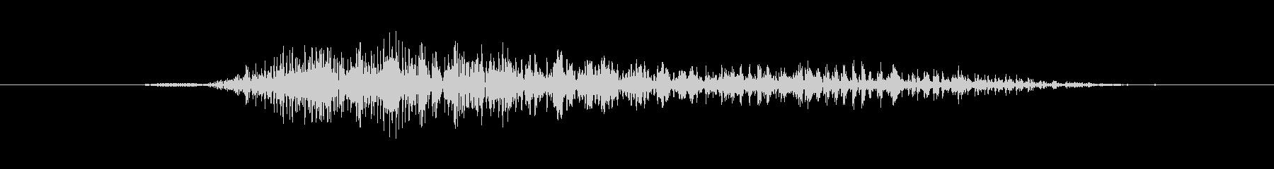 ヒューマノイド 魔女の叫びショート01の未再生の波形