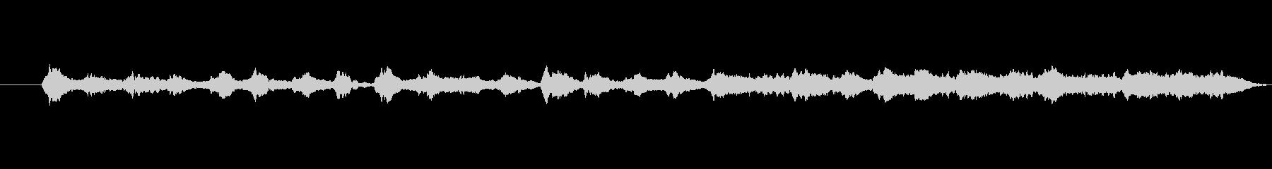響きが特徴的で不思議なメロディーの未再生の波形