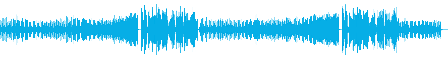 緊迫感のあるEDM曲です。の再生済みの波形