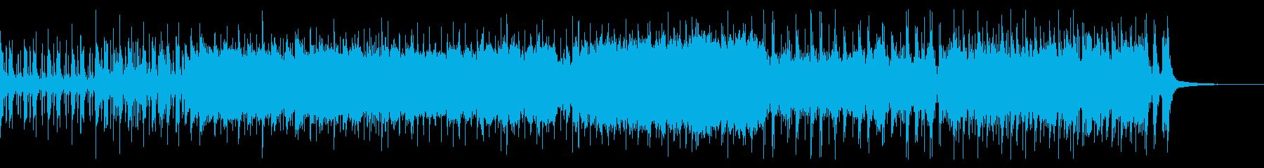 緊迫感のあるジャズ・ファンク【昭和風】の再生済みの波形