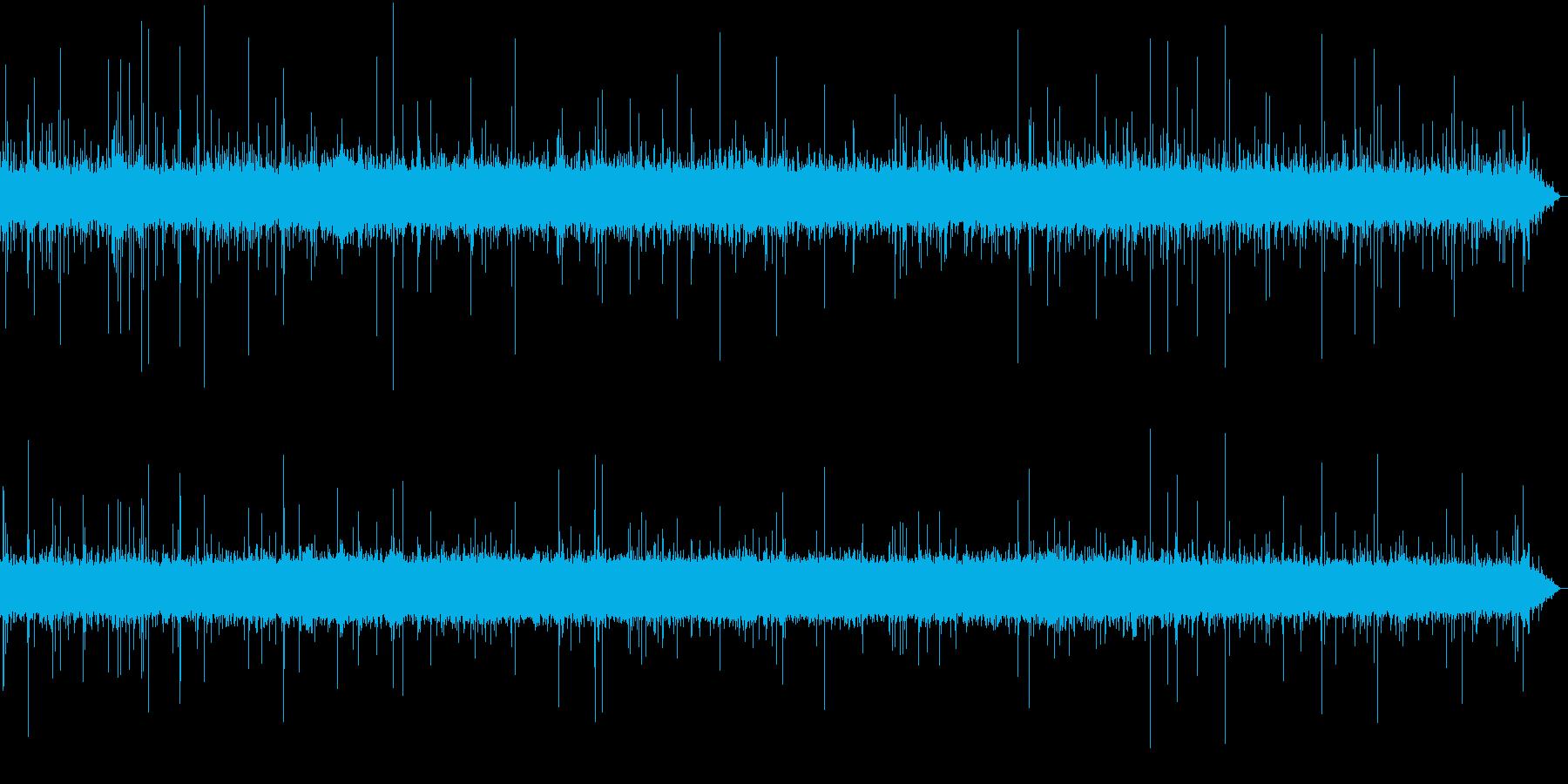 【生録音】日本 東京に降る雨の音 6の再生済みの波形