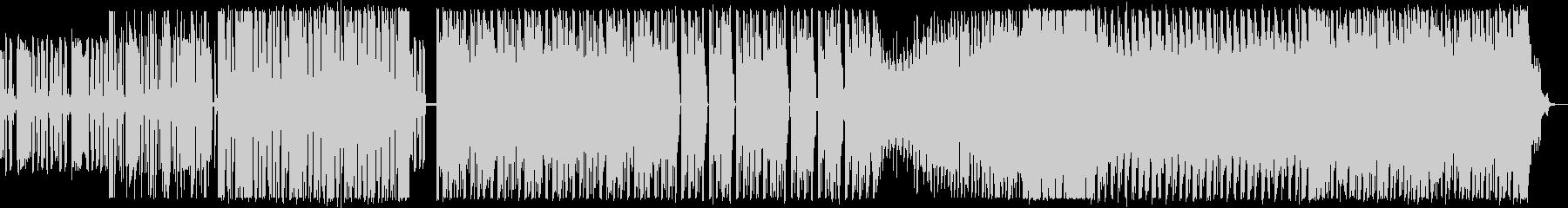 シンセサイザーが中心の攻撃的なEDMの未再生の波形
