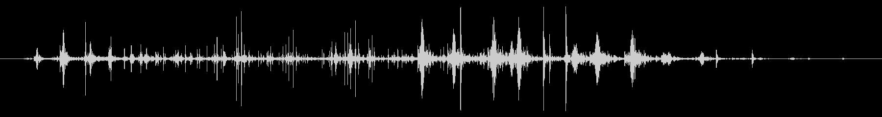 ネバネバ、ヌメヌメとした不気味な音C#3の未再生の波形