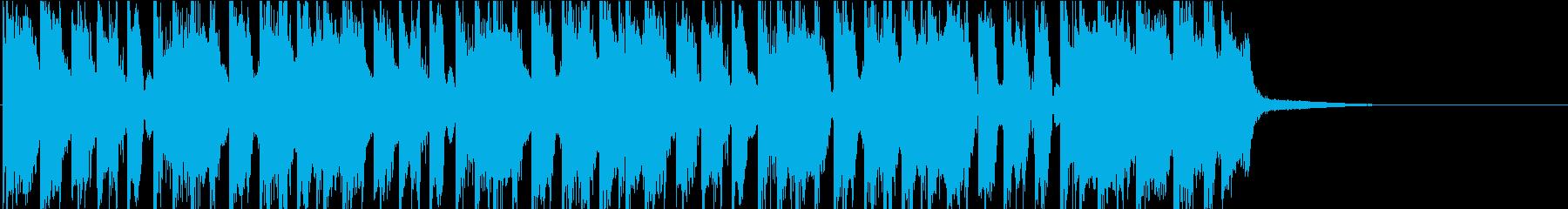 可愛い・パーティ・ポップ・楽しい 20秒の再生済みの波形