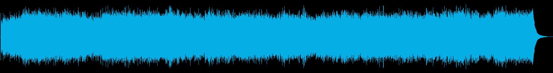 急な腹痛でトイレを探している時の脳内音楽の再生済みの波形