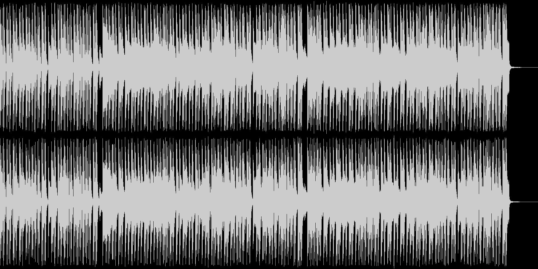 ほのぼのゆったりしたコミカルアンサンブルの未再生の波形