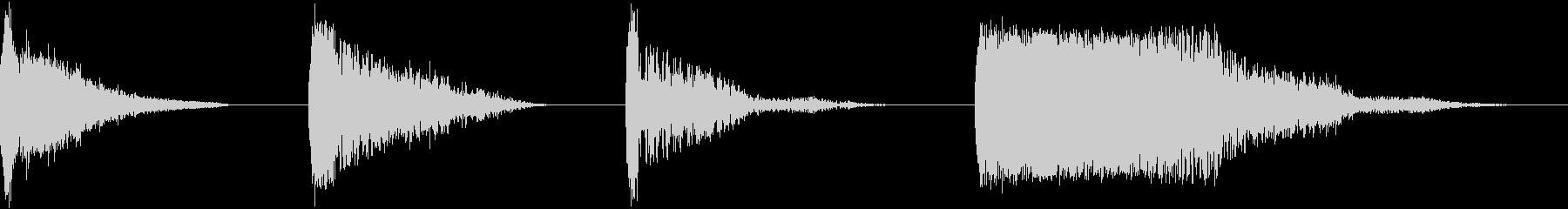 HARMOHIT、4バージョン、イ...の未再生の波形