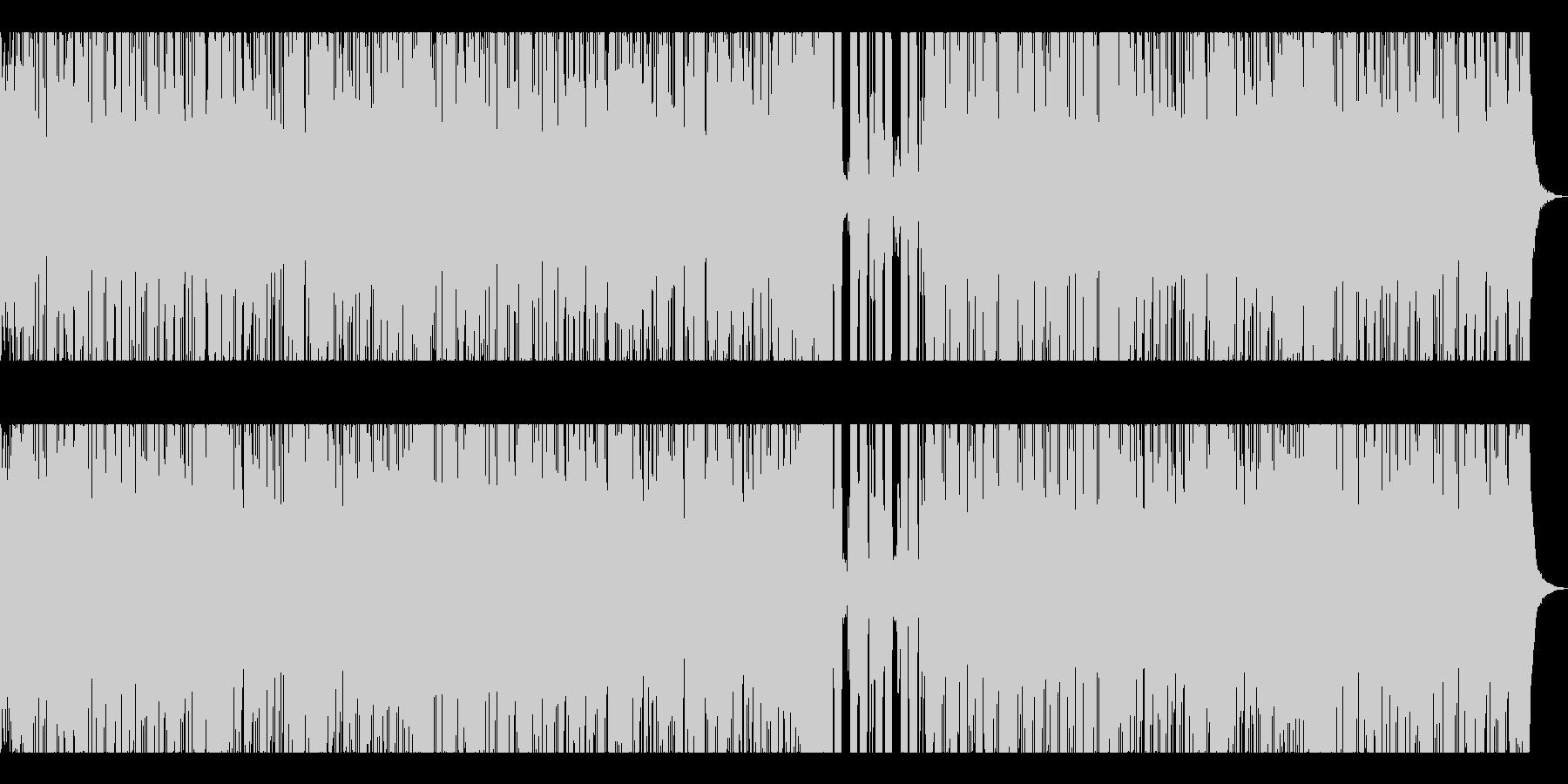 格闘技・Xスポーツ入場シーン向けRockの未再生の波形