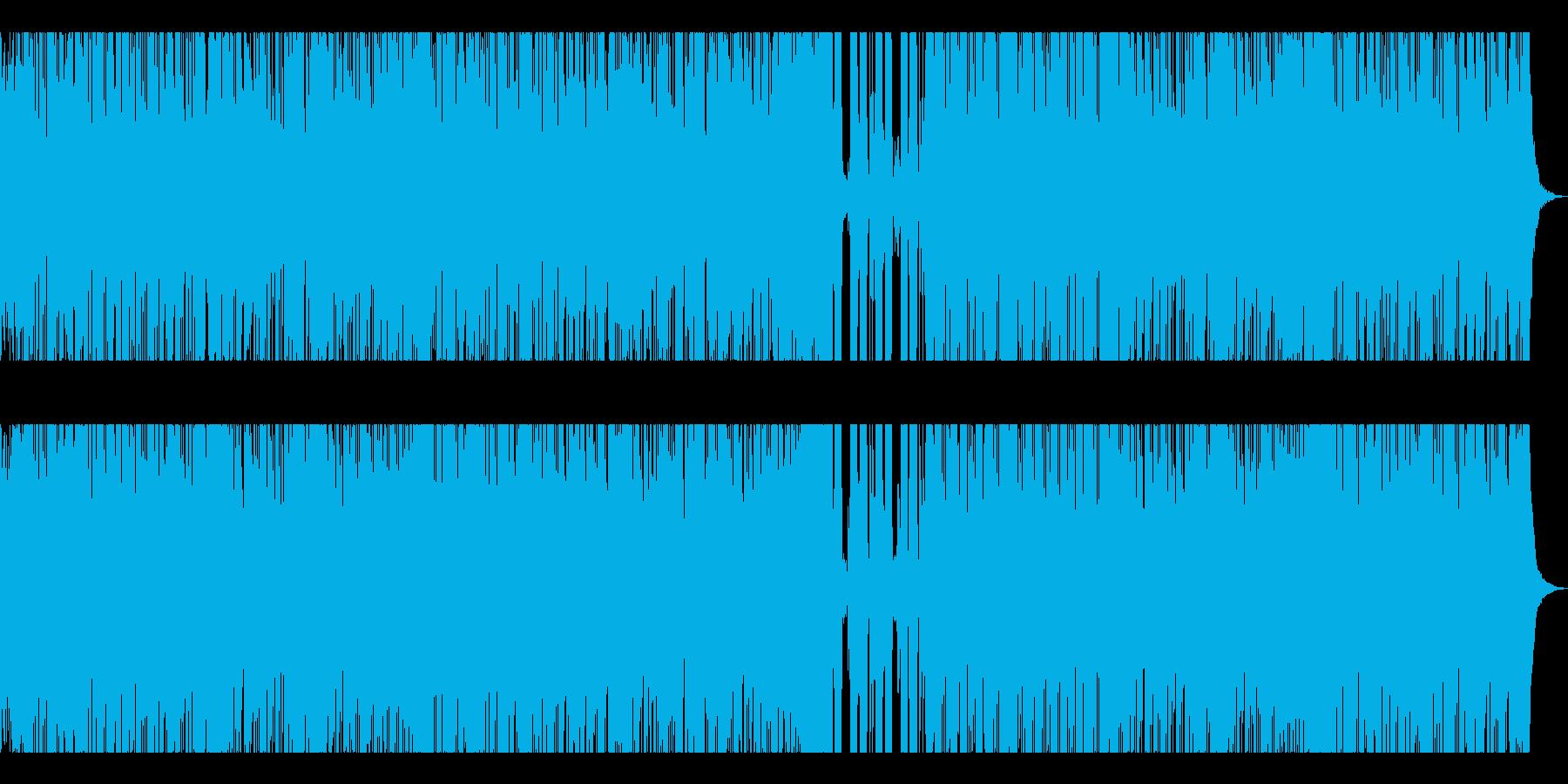 格闘技・Xスポーツ入場シーン向けRockの再生済みの波形