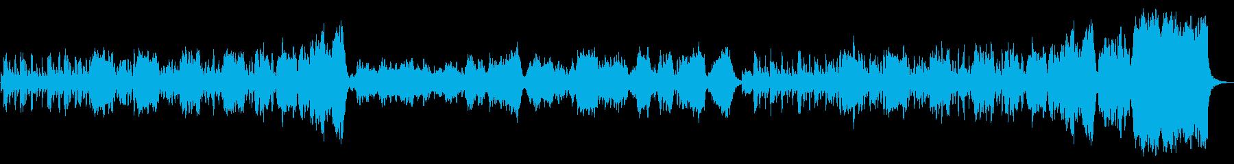 オーボエとストリングスカルテットの、軽…の再生済みの波形