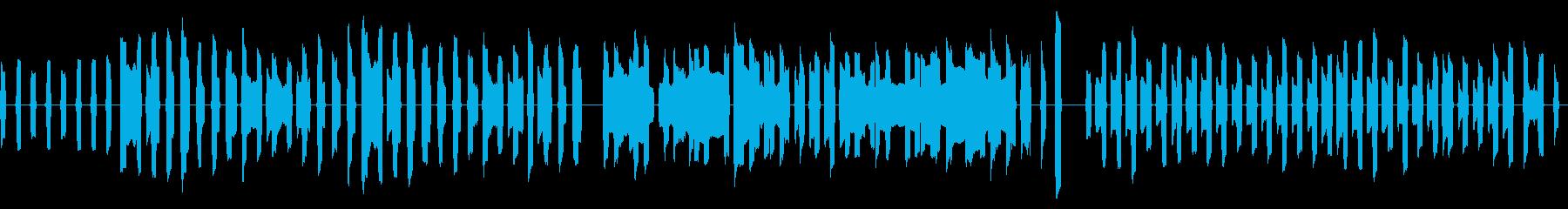 ピタゴラスイッチ風ののんきなリコーダー曲の再生済みの波形