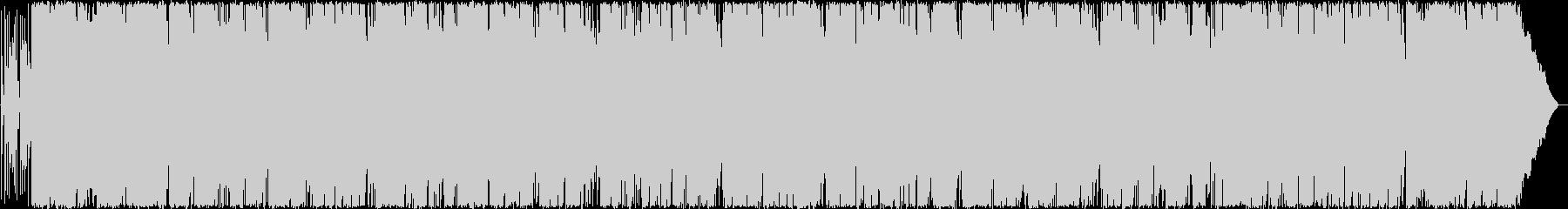 軽快なサックスのポップロックの未再生の波形