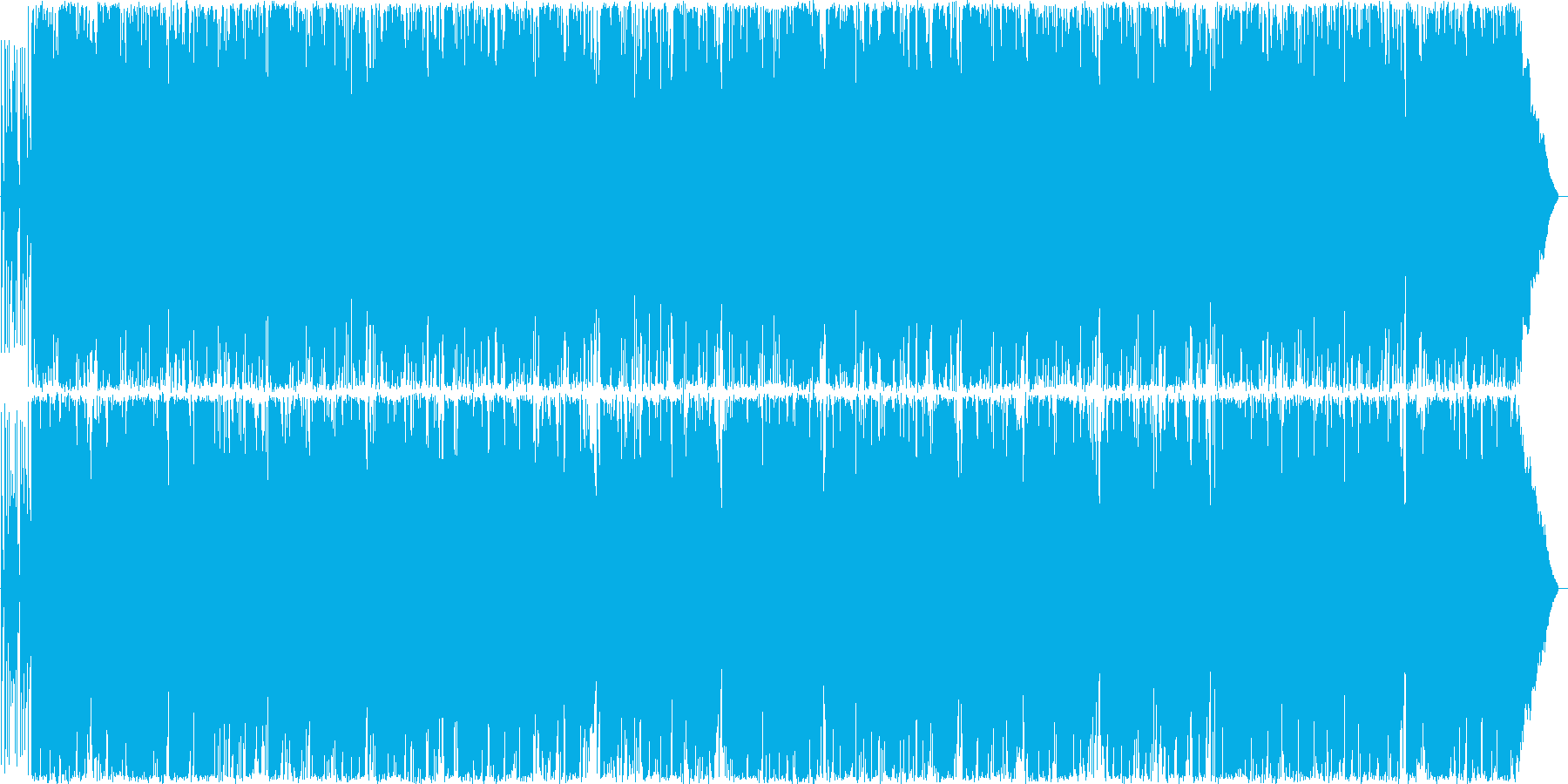 軽快なサックスのポップロックの再生済みの波形