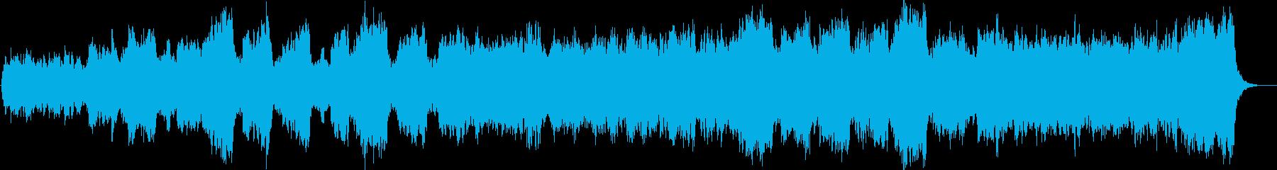 ダーク、ホラー向け曲 悲しいストリングスの再生済みの波形